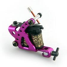 Professionell Tattoo Maschine Tattoomaschine Tätowiermaschine aus Aluminium Rot