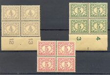 NED INDIE # 107, 110/111  x 4   KW € 68  ** MNH   PF  @10