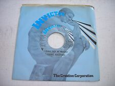 w SLEEVE Barrino Brothers I Shall Not be Moved 1971 45rpm VG++