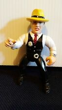 "DISNEY DICK TRACY WARREN BEATTY  MOVIE ACTION FIGURE PLAYMATES LOOSE 5"" 1990"