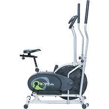 Home Cardio Eliptical Trainer Excercise Bike Gym Workout Electric Flywheel Fan
