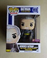 Funko POP Unmasked Armored Batman The Dark Knight Returns PX Previews Exclusive