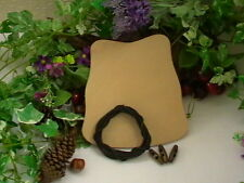 LEATHER ARCHERY ARM GUARD BRACE CUFF TRADITIONAL VEG TAN BOW ARMGUARD DIY KIT AA