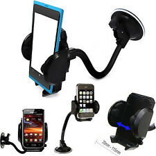 Car,Trucks Windscreen Suction Mount +air vent Holder Cradle Stand for ALL phones
