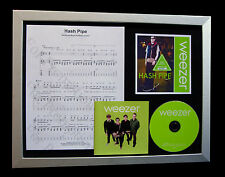 WEEZER Hash Pipe LTD CD GALLERY QUALITY FRAMED DISPLAY+EXPRESS GLOBAL SHIPPING!!