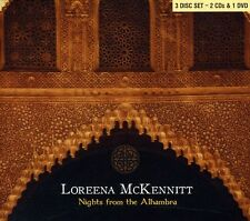 Nights From The Alhambra - 3 DISC SET - Loreena Mckennitt (2007, CD NUOVO)