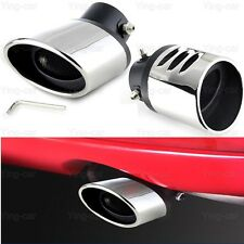 1x Stainless Steel Exhaust Muffler Tail Pipe Tip Tailpipe for Toyota Corolla