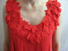 Ted Baker Size 6 Red Summer Party Dress - chic, sexy and stylish