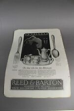 Reed&Barton,Silverware + Lord & Taylor , 5th Avenue NewYork - Reklame 1927 /S139