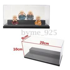20x10x9cm Clear Acrylic Display Box Case Dustproof Tray Protection For Toy Model