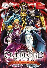 DVD Anime OVERLORD Special Edition Complete Series (1-13 +OVA) English Dub Audio
