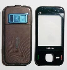 Full Housing cover Facia Fascia faceplate case for nokia N85 Brown ----000000