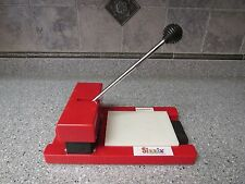 Scrapbooking Sizzix Big Red Original Die Cutter Press Machine