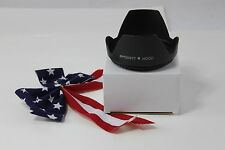 77mm Tulip Flower Lens Hood for DSLR Nikon FX Nikkor 24-70mm f/2.8G ED