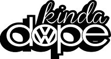 RACING STICKERS Funny Car Window Bumper VW Beetle BUG VDUB Vinyl Sponsor Decals