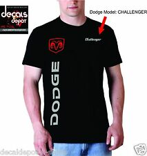 Custom Shirt for DODGE Car Owners, Charger RAM Durango SRT Avenger Challenger...