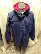 Womens Columbia Ski Jacket Navy/maroon Coat Longs Peak Medium Large