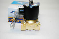 """Electric Solenoid Valve Water Air N/C AC110V Pipe size:3/4""""  Normally Close 411"""