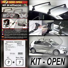 BARRE PORTATUTTO +KIT ATTACCHI OPEN - VW GOLF 4° 5P DA 1997 A 2003 113+C