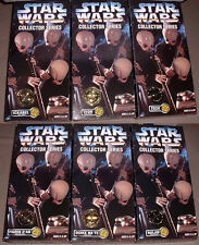 STAR WARS COLLECTOR SERIES CANTINA BAND ALL 6 MEMBERS