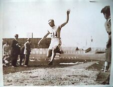 OLYMPIC GAMES 1924 EERO REINO LEHTONEN WINNER PENTATHLON GOLD MEDAL PHOTOGRAPH