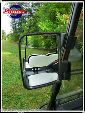 Universal golf cart rear view side mirror (one for each side/set of 2)