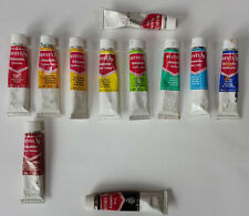 lot of 11 Reeves gouache paints 12 ml 0.4 US fl. oz. used
