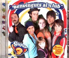 CD - SUPER 3 - BENVINGUTS AL CLUB (CANÇONS DEL PROGRAMA DE TV3 CATALUNYA) NOU