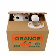 03e46f4c2 Peradix Money Toy Bank Automatic Stealing Coin Cat Kitty Coins Penny Cents  Piggy