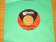 """60's ROCK 45 RPM - THE NEW HOPE - JAMIE 1381 - """"WON'T FIND BETTER"""""""