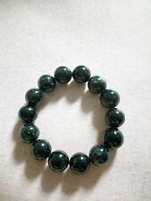 NATURAL 15 MM TO 16 MM HAIR RUTILATED CRYSTAL BRACELET (BRAND NEW)