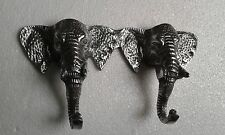 Wall Mount Aluminium Elephant Trunk Coat Hook  8 x 4.5 inches us./.