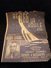 Partition Bercé par la houle Réda Caire Music Sheet