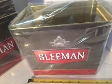 One New Sleeman Beer Ice Box Smaller Size Square Bucket With Handles