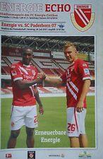 Programm 2013/14 FC Energie Cottbus - SC Paderborn