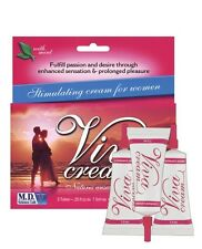 VIVA STIMULATING CREAM FOR WOMEN INTENSIFY SEXUAL ENHANCEMENT CREAM 3 PACK LUBE