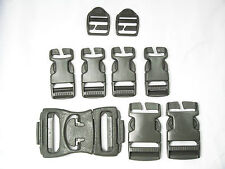 US Military Replacement Repair ACU Molle II Backpack Pack Snap Buckle Set NEW