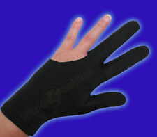 Black Billiard Glove - Size Extra Extra Large - Double-Stitched Pool Cue Glove