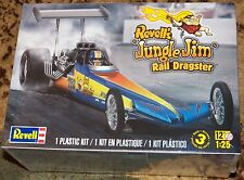 Revell Monogram Jungle Jim 1974 Rear Engine Rail Dragster  Model Kit 1/25