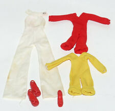 Lot of Charlie's Angels Jumpsuits and Shoes