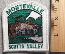 MONTEVALLE SCOTTS VALLEY CALIFORNIA PATCH (SOUVENIR, STATE)