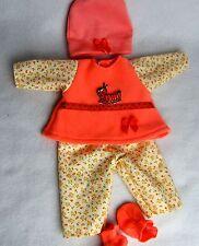 Puppenbekleidung Für Baby Born 32 Kleider Set 4-teilig -Süße Raupe-