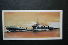 HM SUBMARINE K12   WW1    Royal Navy K Class Submarine  Illustrated Card   VGC