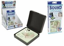 PERSONAL MINI NATURAL HEARING SOUND AMLIFIER ENHANCER WITH HARD PLASTIC CASE