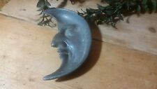ANTIQUE ESTATE LARGE CRESENT MOON Paper Weight or Ashtray - Art Deco circa 1900