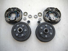 Add Brakes to Your Trailer Basic Kit 3500 axle 6 x 5.5 Bolt Electric Drum 10x2.2