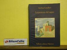 L 5.092 LIBRO LA PAZIENZA DEL RAGNO DI ANDREA CAMILLERI 2004