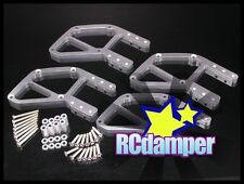 ALUMINUM FRONT+REAR UNDER GUARD CHASSIS S FOR TAMIYA TXT-1 TXT1