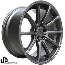 "19"" 5x120 UP100 WHEELS 19x8.5/9.5 ET15/22 GUNMETAL BMW E60 645ci 650i 750i 745i"