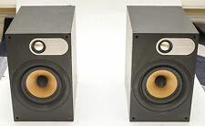 ! NEW Nautilus Tweeters ! B&W 686 Bowers Wilkins Bookshelf Speakers 100W